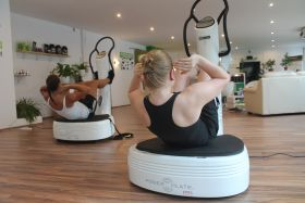Power Plate Six-Pack-Training