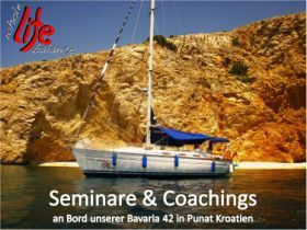 Business Seminare am Segelboot Kroatien
