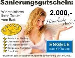 Bad-Modernisierungs-Gutschein € 2.000.-