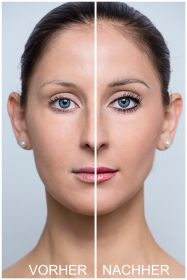 Permanent Make-up für Lidstrich