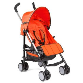 Gesslein S5 Buggy orange + Regenschutz