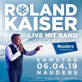 4 Tickets - Roland Kaiser live mit Band