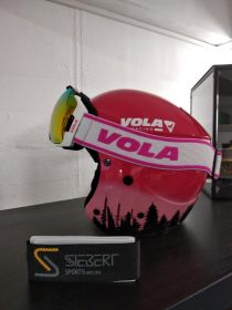 1 x Vola Racing Kinderhelmset  für Girls