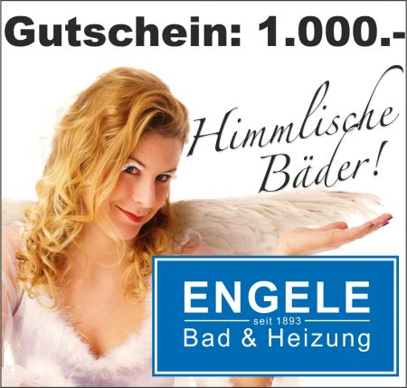 Bad-Modernisierungs-Gutschein € 1.000.-